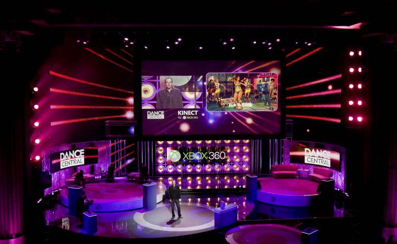 Detalhe da apresentação pré-E3 da Microsoft