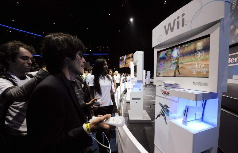 Visitante da E3 testa o novo