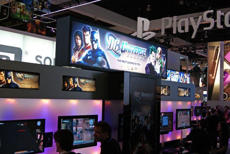 Entrada do espaço dedicado ao game online