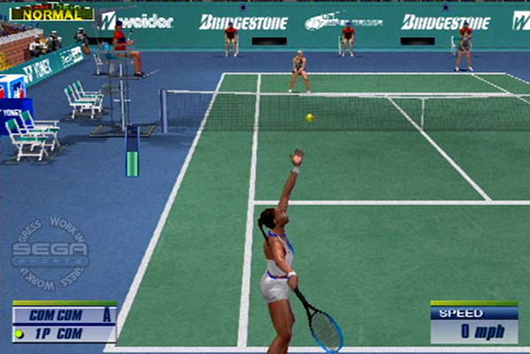Sega Tennis