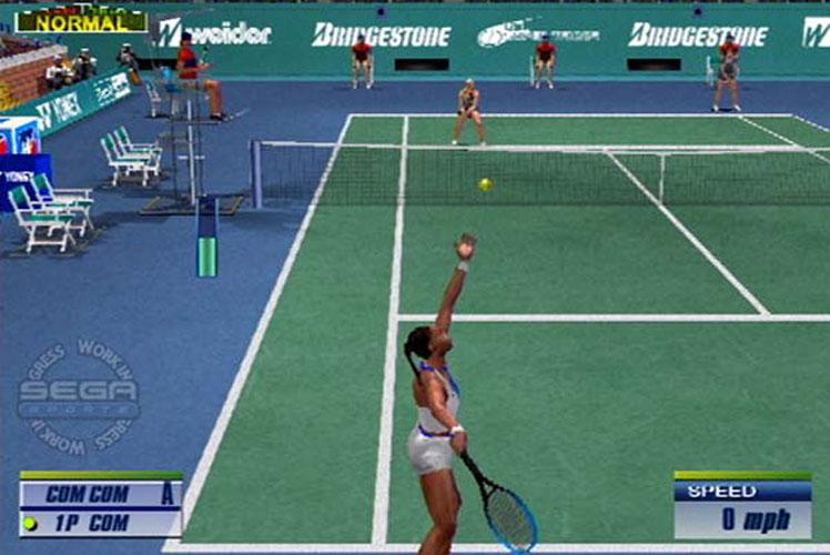 Sega Tennis