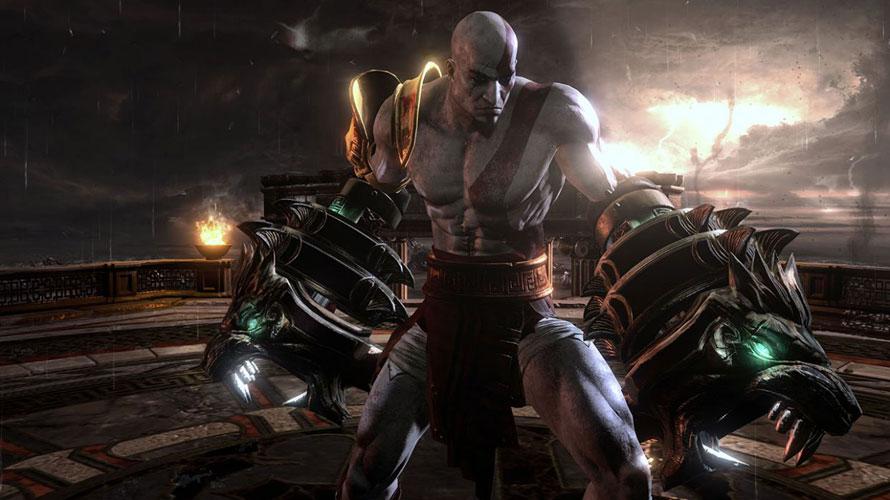 """Exclusivo para PlayStation 3, """"God of War ..."""