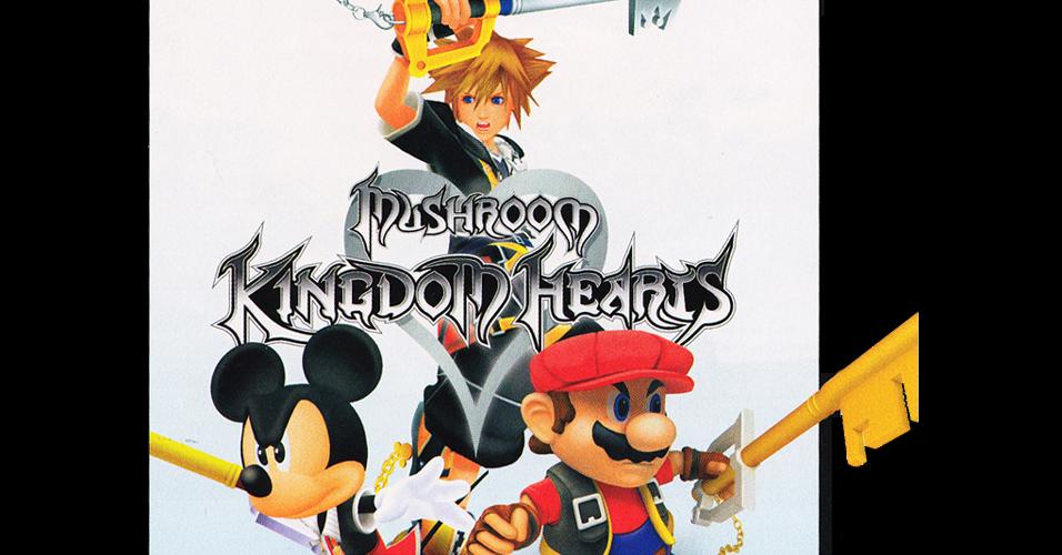 Em 2007, a revista norte-americana juntou a turma de Final Fantasy, Disney e Super Mario no fictício jogo