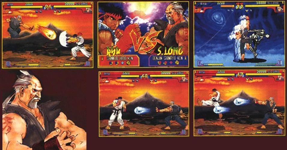 Novo capítulo da saga em 1997, velha piada em ação já que a EGM reciclou o rumor sobre a possibilidade de enfrentar Sheng Long no game