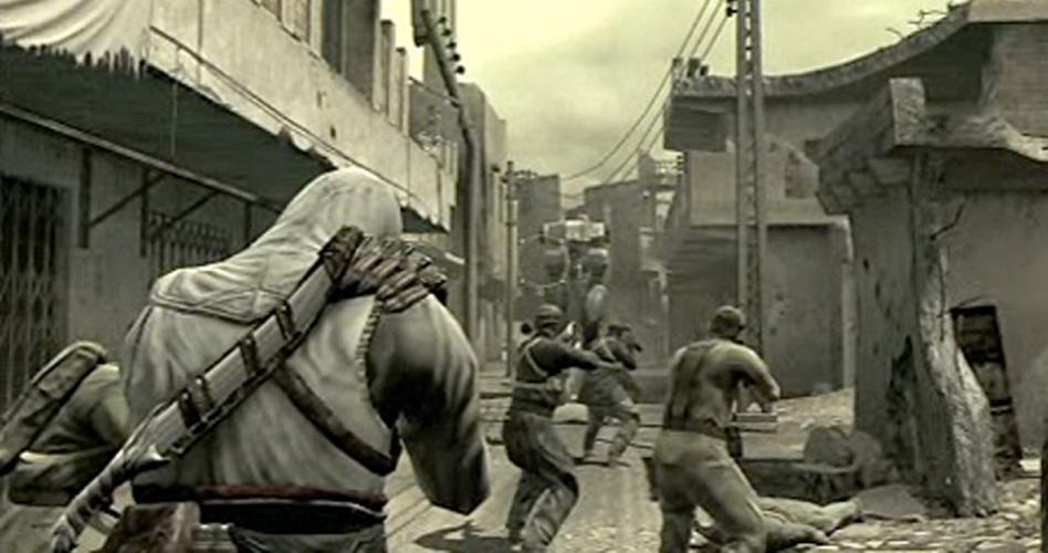 A Konami e a Ubisoft uniram forças em 2010 para criar uma mistura de