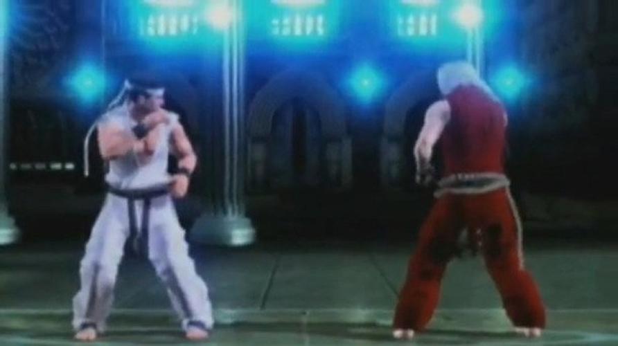 Ryu e Ken invadiram o universo de