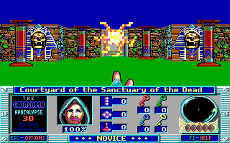 Em 1992 catacomb abyss 3d da id software começou a dar forma ao