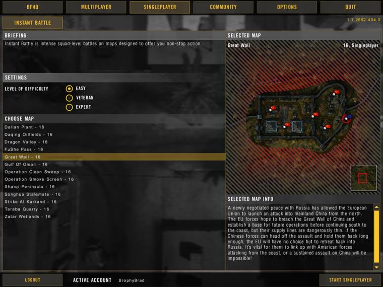 Фото Battlefield 2: Special Forces лучше отражают атмосферу игры, чем пусть