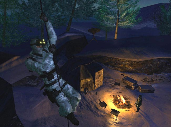 Tom Clancy's Splinter Cell Double Agent Screenshots.