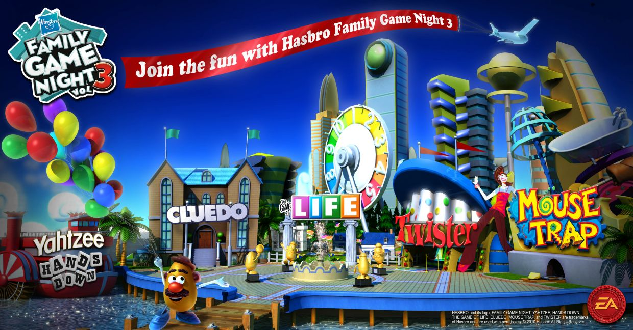 Family Games For Ps3 : Hasbro family game night playstation uol jogos