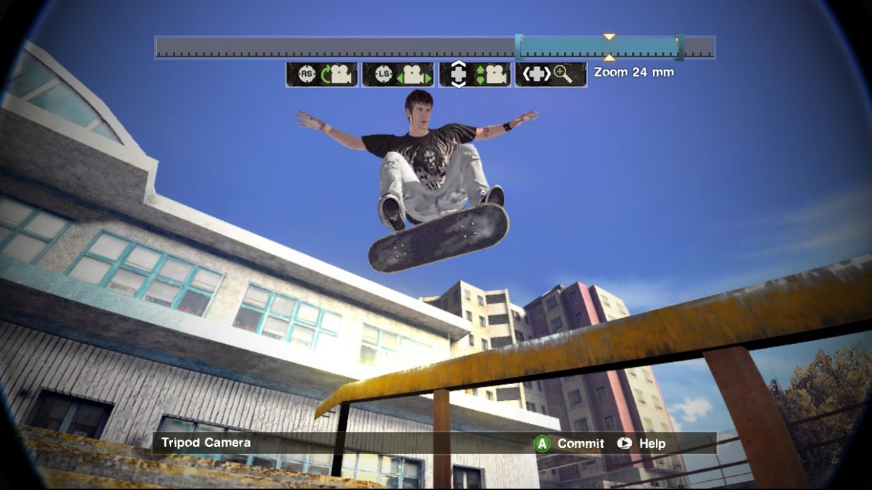 skate thre how to get on awnings xbox