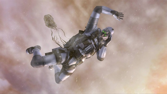 The next game in Tom Clancy's Splinter Cell series, Double Agent, will