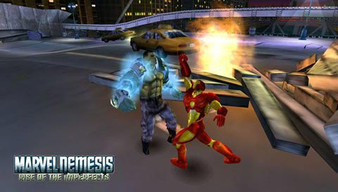 1Marvel Nemesis Rise Of The Imperfects Psp