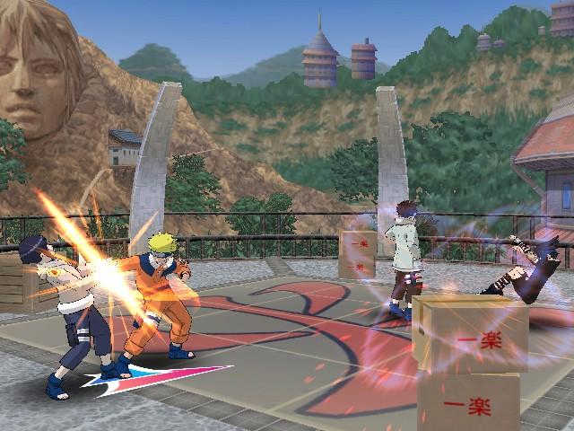 """При использовании скриншотов из игры """"Naruto: Clash of Ninja Revolution """" ссылка на Imhonet.ru обязательна."""