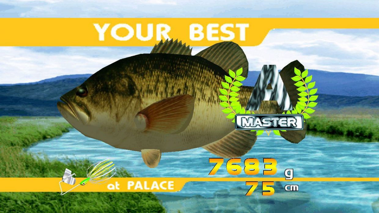 Sega bass fishing xbox 360 uol jogos for Xbox fishing games