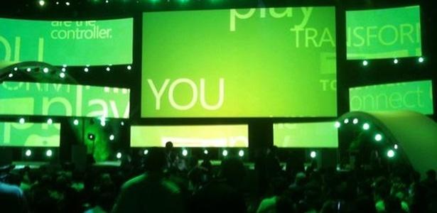 Equipe UOL Jogos já está dentro da conferência da Microsoft