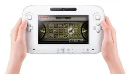 Controle do novo viodeogame da Nintendo tem tela sens?vel ao toque