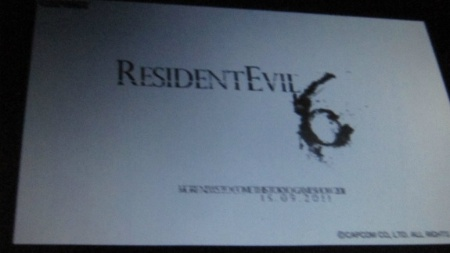"Segundo site, ""Resident Evil 6"" será mostrado durante a TGS 2011"