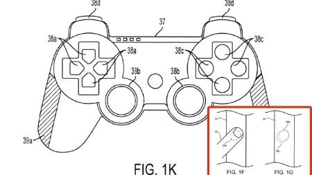 Controle do PlayStation 4 pode ter tela sensível ao toque e sensor biométrico, dizem sites Patente-dualshock-com-vitality-sensor-1320961313571_450x253