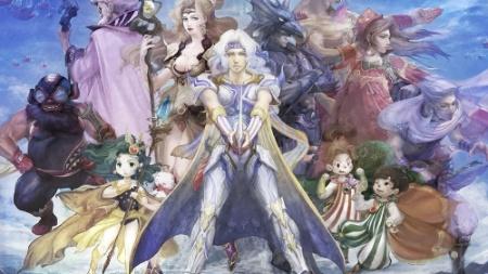 """O remake de """"Final Fantasy IV"""" conta com áudio japonês e legendas em português"""