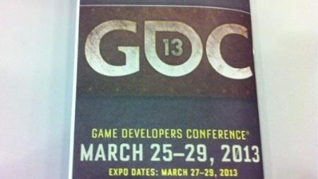 Desenvolvedores e fãs de jogos retornarão a San Fransico no final de março de 2013