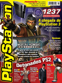 Capa da edio 94 da &#039;Dicas e Truques para PlayStation&#039;