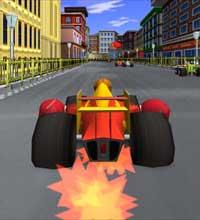 'Senninha GP' � um jogo de corrida em que os personagens usam diversos itens
