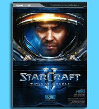 """Capa da vers�o brasileira de """"StarCraft II""""; game chega totalmente em portugu�s"""