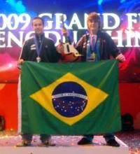 Jean Michel e Fábio Jardim foram os medalhistas brasileiros na WCG 2009