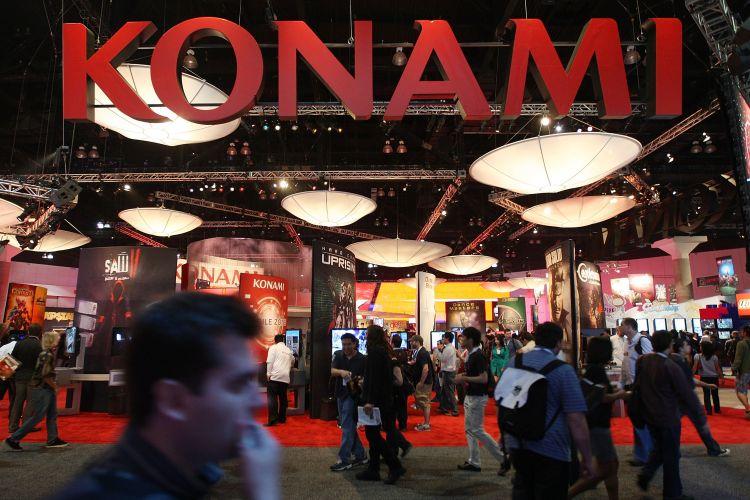 Detalhe do estande da Konami na E3 2010