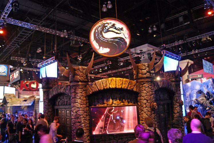 Espécie de castelo compõe o espaço dedicado ao game