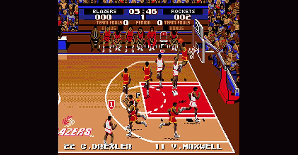 Tecmo Basketball