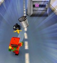 """""""Garbageman"""" consiste em recolher lixo das ruas - e eventualmente se transformar em um super-herói"""