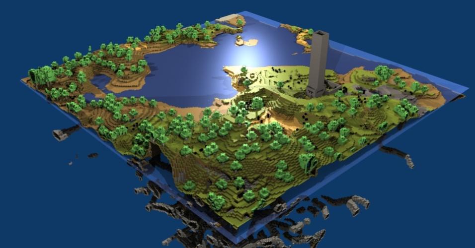 """""""Minecraft"""" é adotado como ferramenta de ensino por quase mil escolas no mundo"""