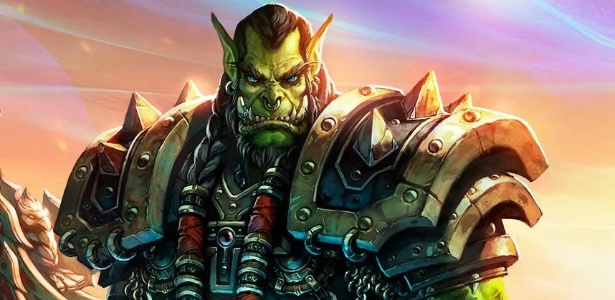 "Thraal, personagem do jogo de RPG online ""World of Warcraft"""