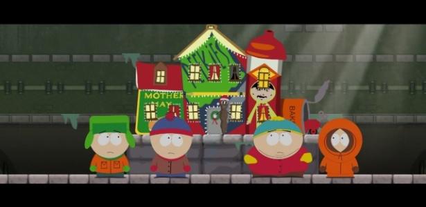 """O desenho """"South Park"""", exibido nos EUA no Comedy Central, canal exclusivo para programas humorísticos - Divulgação"""