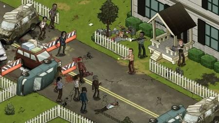 """Jogadores encaram o apocalipse de """"The Walking Dead"""" na rede social"""