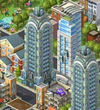 """Em """"CityVille"""", jogador deve administrar e fazer com que a cidade prospere"""