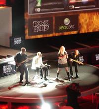 Executivos da Microsoft fazem show com 'Rock Band' na E3 2007