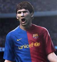 """Argentino Lionel Messi é novamente o garoto-propaganda de """"Pro Evolution Soccer"""""""