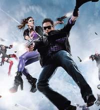 """O terceiro game da série """"Saints Row"""" chega ainda em 2011"""