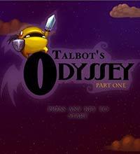 """Tela inicial de """"Talbot's Odyssey"""", produção para PC do estúdio Miniboss"""