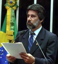Senador Valdir Raupp, autor do projeto que pretende proibir a venda de jogos ofensivos