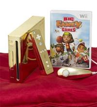Ação promocional da THQ presenteia rainha Elizabeth II com Wii dourado